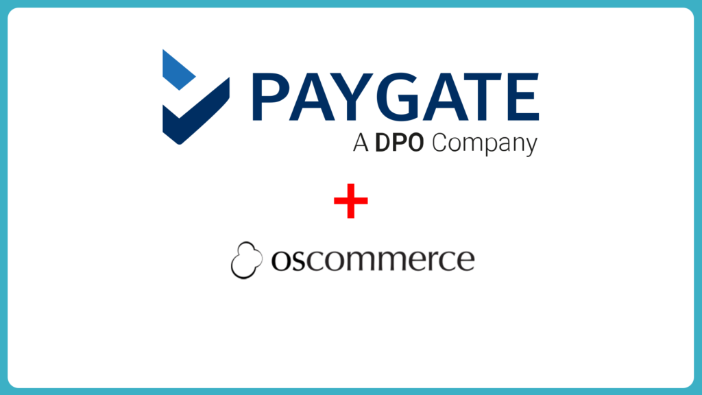 How To Setup PayGate PayWeb for osCommerce